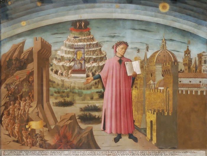 Itinerari Firenze Medioevale Dante_Duomo_Florence